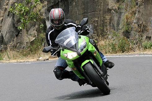 Ninja 650R review, test ride