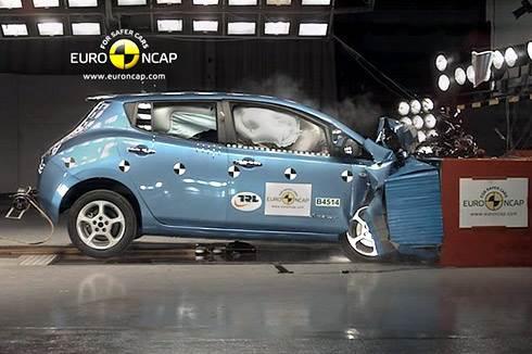 Five stars for Nissan Leaf safety