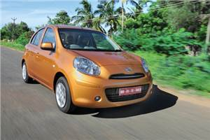 Nissan Micra test drive and review