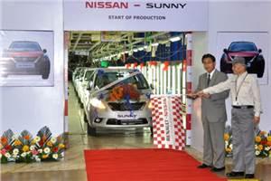 Nissan Sunny production kickstarts
