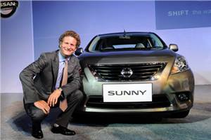 Nissan Sunny officially launched