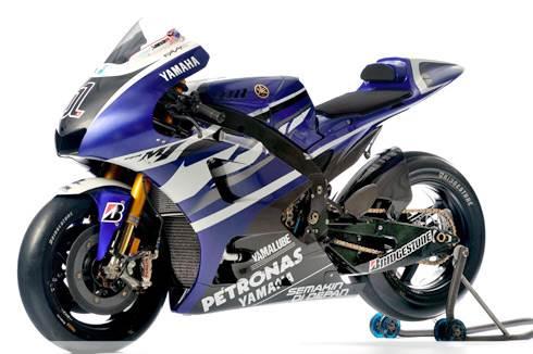 Yamaha unveils MotoGP 2011 livery