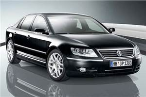 VW unveils Phaeton at the Expo