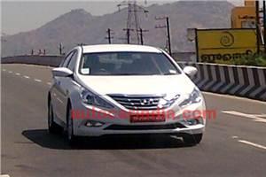 SCOOP! New Hyundai Sonata spied