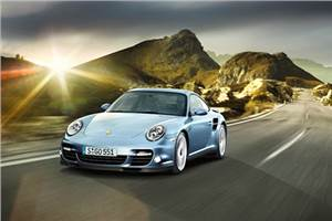 Porsche unveils new 911 Turbo S