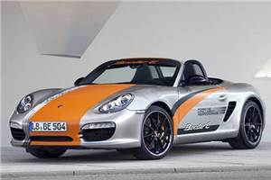 Porsche readies electric Boxster