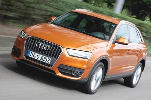 2011 Audi Q3 2.0 TDI review, test drive
