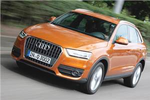 2011 Audi Q3 2.0 TDI review, test drive