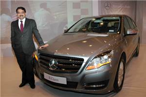 Merc R-class launched, Rs 58.7lakh