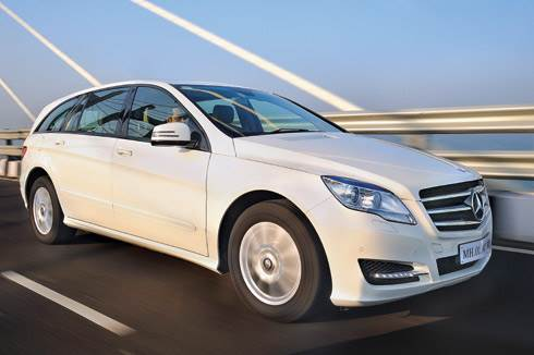 Merc R-Class test drive, review