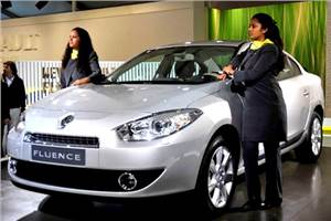 Renault showcases its Fluence