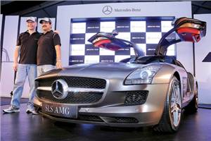 Mercedes-Benz launches SLS AMG
