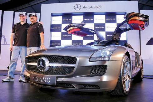 SLS AMG coming to APS 2010