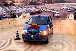 Hyundai exports 5 lakh Santros