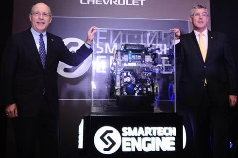 General Motors launch new engine