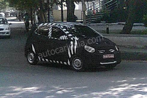 Hyundai's new small car HA spied