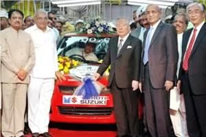 Maruti rolls out 1 millionth car