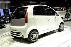 Tata reveals Nano EV at Geneva