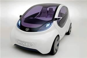 Tata Pixel is new city car concept