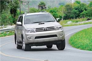 Toyota resumes Fortuner bookings