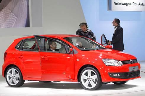 VW Polo unveiled at Auto Expo