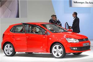 VW Polo unveiled at Auto Expo