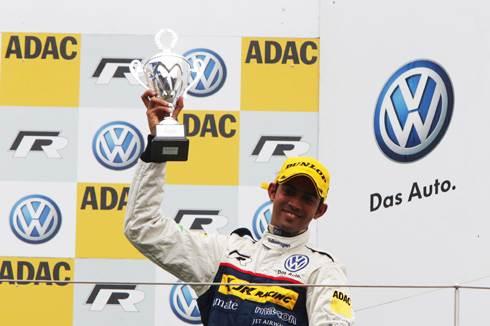 Aditya third at Nurburgring
