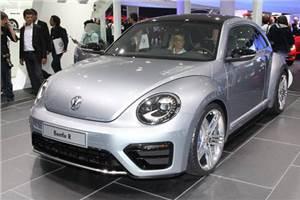 VW showcases sportier Beetle R