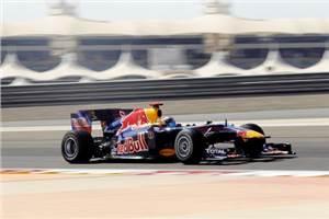 Vettel on pole in Bahrain