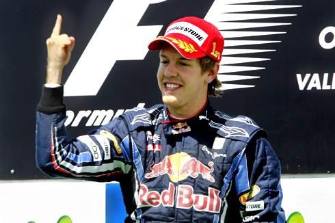 Vettel takes European GP victory
