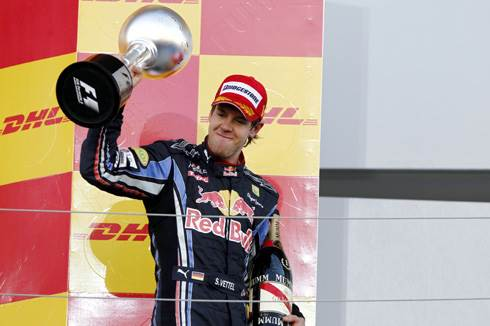 Vettel dominates at Suzuka