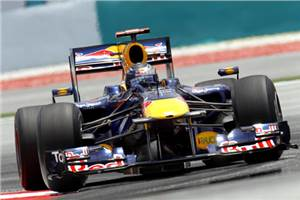 Vettel leads Red Bull one-two