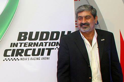 Chandhok concerned over 2012 Indian GP date