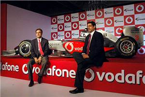 Race to fame with Vodafone