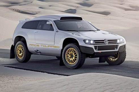 Volkswagen shows race Touareg  3