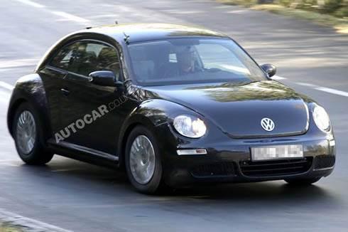 Next Volkswagen Beetle Spied