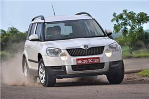 Skoda Yeti test drive and review