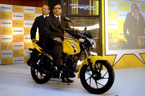 Suzuki SlingShot 125 launched