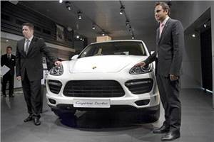 Porsche launches Cayenne diesel