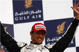 Button storms to Bahrain GP victory one