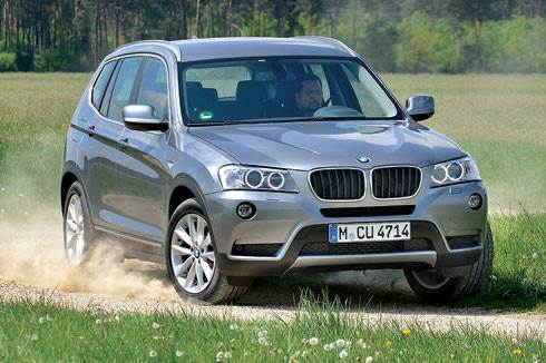 2011 BMW X3 review, test drive