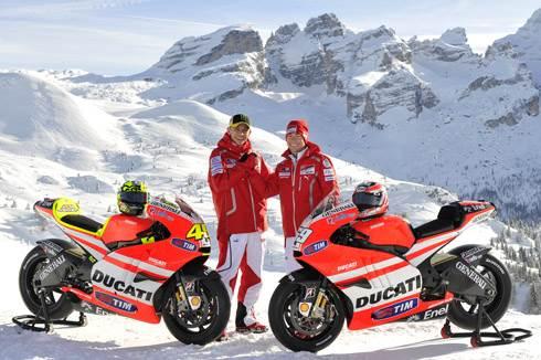 Ducati reveals Desmosedici GP11
