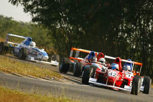 Action continues in MRF Formula Championship