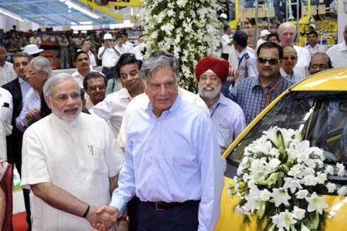 Tata inaugurates Nano mother plant