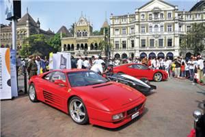 Parx Super Car Parade on Jan 31
