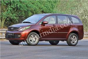 Tata Aria launch on October 11