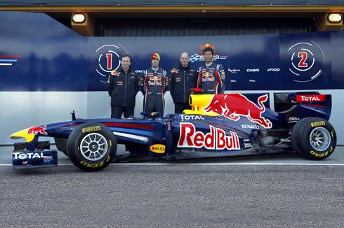 Red Bull reveals RB7