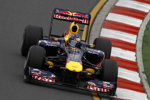 Webber fastest in Australia first practice