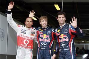 Vettel on pole in Australia