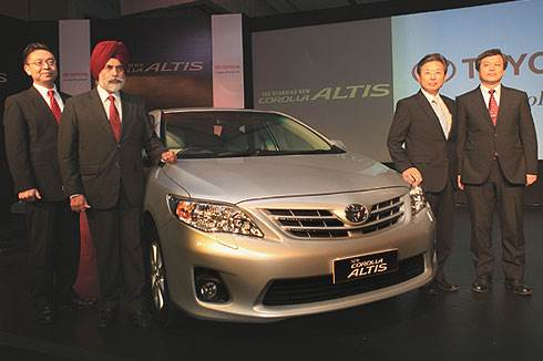 Updated Corolla Altis launched